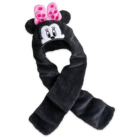 Minnie Mouse hue og halstørklæde i ét til børn