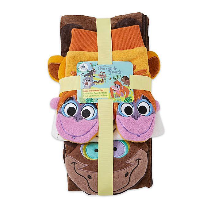 Disney Store Accessoires d'hiver Le Livre de la Jungle pour enfants, Furrytale Friends