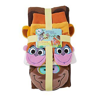 Conjunto accesorios de invierno infantiles El Libro de la Selva, Furrytale Friends, Disney Store
