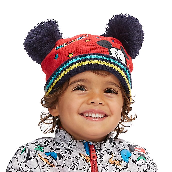 Disney Store Mickey Mouse Beanie Hat For Kids