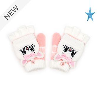 Disney Store Marie Flip Top Fingerless Gloves For Kids