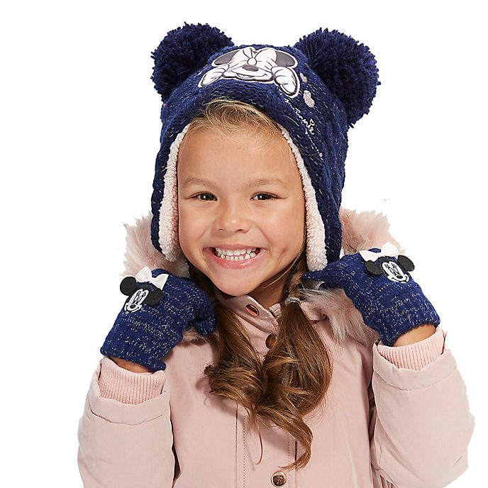 Disney Store Minnie Mouse Hat For Kids