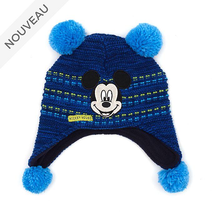 Disney Store Bonnet tricoté Mickey pour enfants