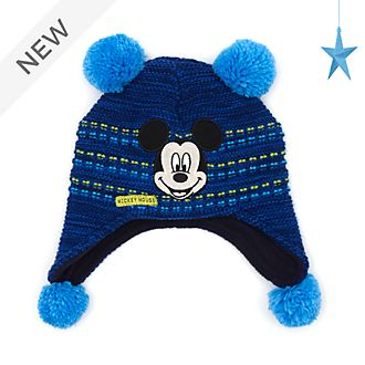 Disney Store Mickey Mouse Knitted Hat For Kids