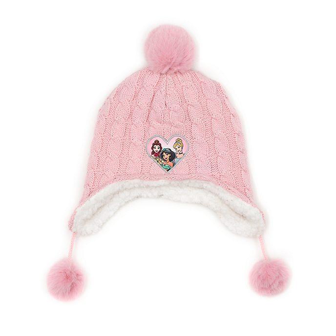 Disney Store Bonnet tricoté Princesses Disney pour enfants
