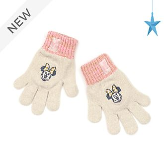 Disney Store Minnie Mouse Gloves For Kids