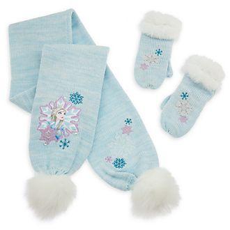 Conjunto infantil bufanda y manoplas, Frozen 2, Disney Store