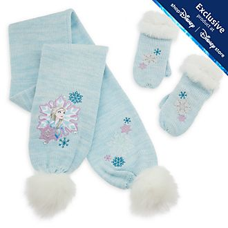 Disney Store Frozen 2 Scarf and Mittens Set For Kids