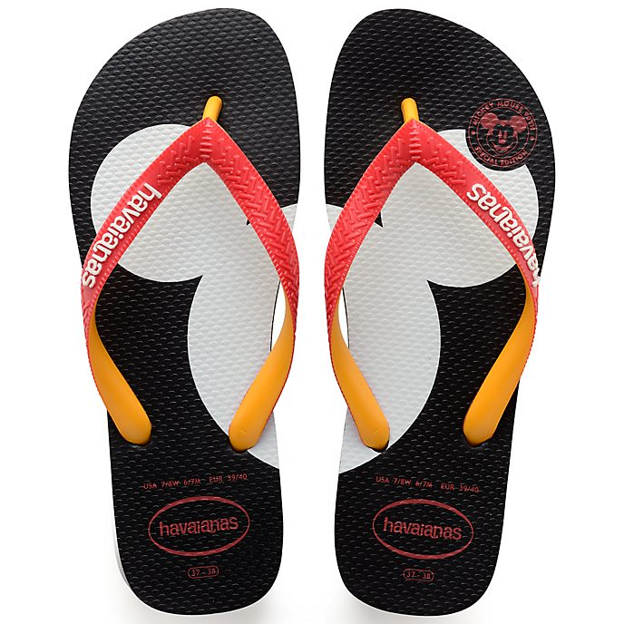 6a1e1443b Havaianas Mickey s 90th Anniversary Opening Edition Flip Flops
