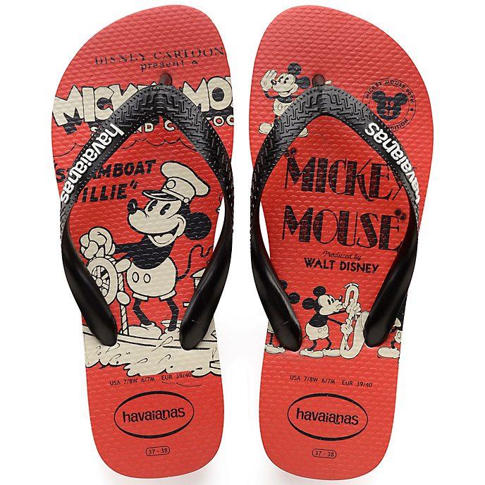 236e1d54cd938 Havaianas Mickey s 90th Anniversary 1928 Flip Flops