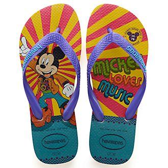 Havaianas Mickey's 90th Anniversary 1970 Flip Flops