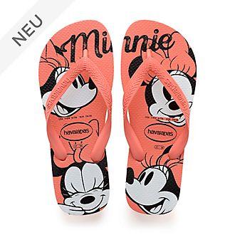Havaianas - Minnie Maus - orangefarbene Flip Flops für Erwachsene