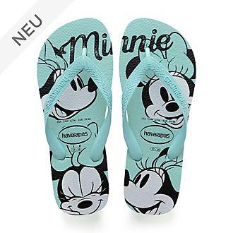 Havaianas - Minnie Maus - blaue Flip Flops für Erwachsene