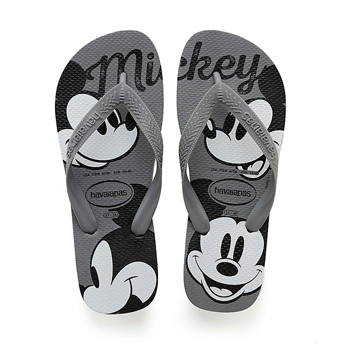 Havaianas Tongs Mickey grises pour adultes