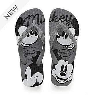 Havaianas Mickey Mouse Grey Flip Flops For Adults