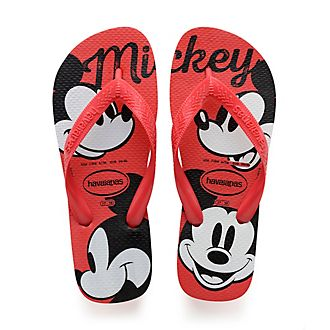 Havaianas Tongs Mickey rouges pour adultes