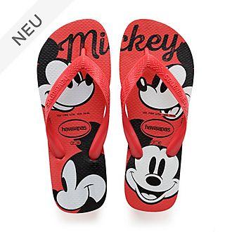 Havaianas - Micky Maus - rote Flip Flops für Erwachsene