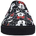 Chaussures Slip-on Mickey et Minnie Black noires pour adulte