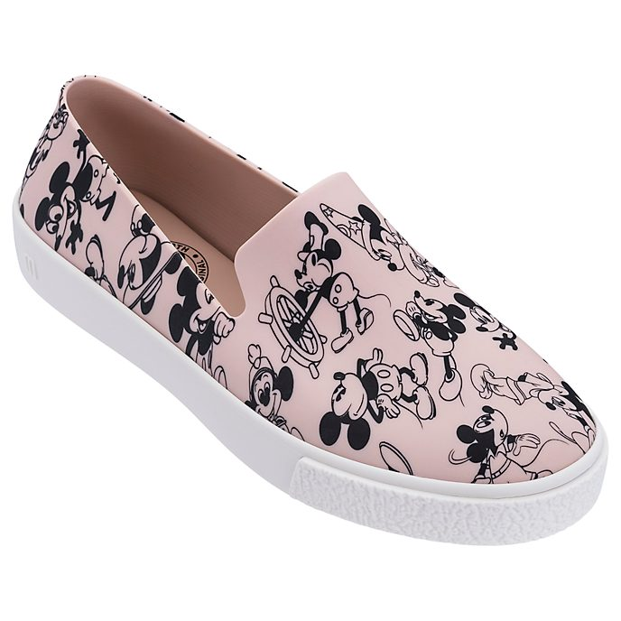 Chaussures Slip-on Mickey rose poudre pour adulte