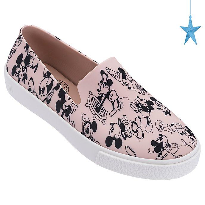 Zapatos sin cordones para adultos rosado, Mickey Mouse
