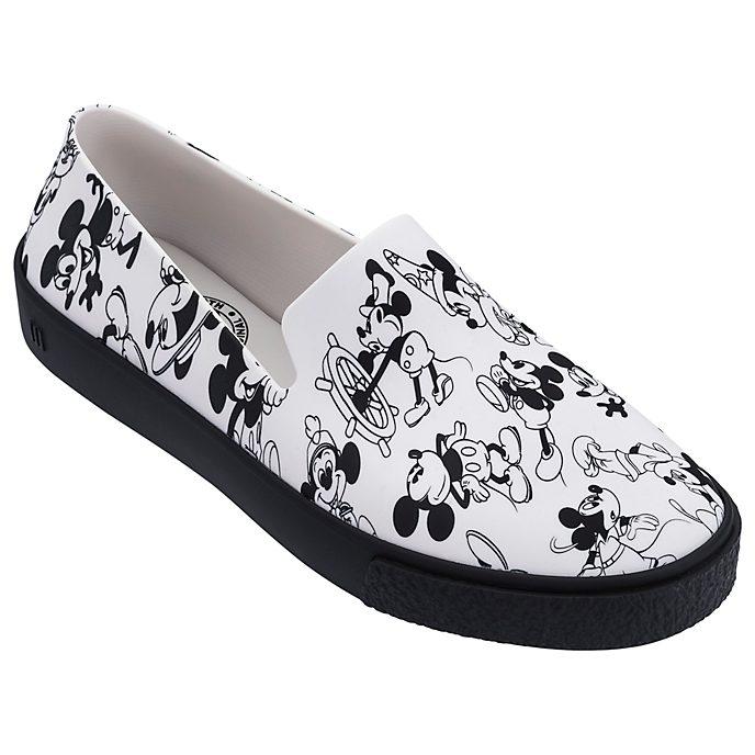 Sin Cordones Mouse Para Zapatos Adultos BlancoMickey ChxdtsQr