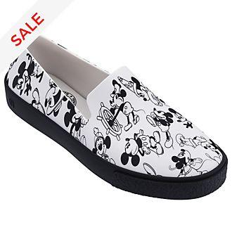 Micky Maus - Slipper für Erwachsene in weiß