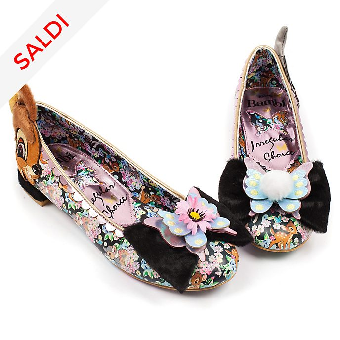 Ballerine donna Bambi Irregular Choice X Disney