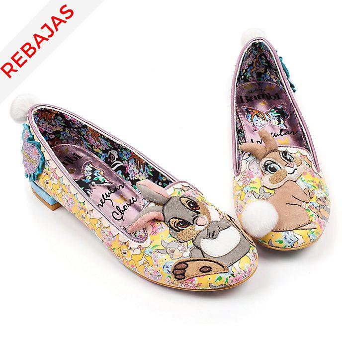 744a00380ed Zapatos de mujer Bambi, Tambor y Conejita, Irregular Choice x Disney