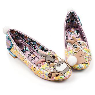 Chaussures plates Pan-Pan et Miss Bunny pour femmes, Irregular Choice X Disney Bambi