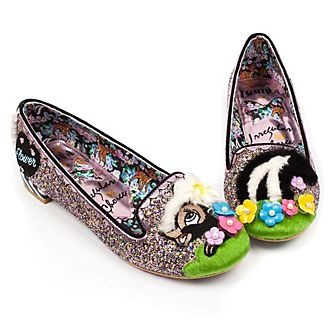 Irregular Choice X Disney Bambi Flower Ladies' Flat Shoes
