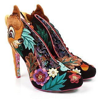 Chaussures à talons Bambi et ses amis pour femmes, Irregular Choice X Disney Bambi