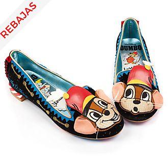 Zapatos de mujer Dumbo y Timoteo, Irregular Choice x Disney
