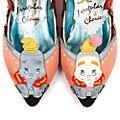 Chaussures plates Dumbo pour femmes, Irregular Choice X Disney Dumbo