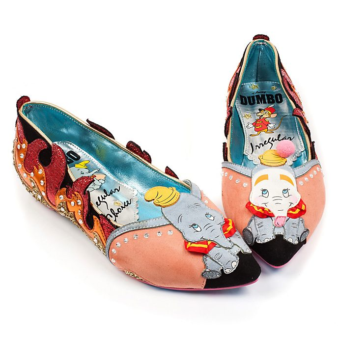 Irregular Choice X Disney Dumbo Ladies' Flat Shoes