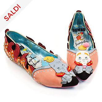 Ballerine donna Dumbo Irregular Choice X Disney
