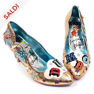 Scarpe con tacco donna Dumbo Irregular Choice X Disney