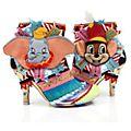 Bottines à talons Dumbo et Timothée pour femmes, Irregular Choice X Disney Dumbo