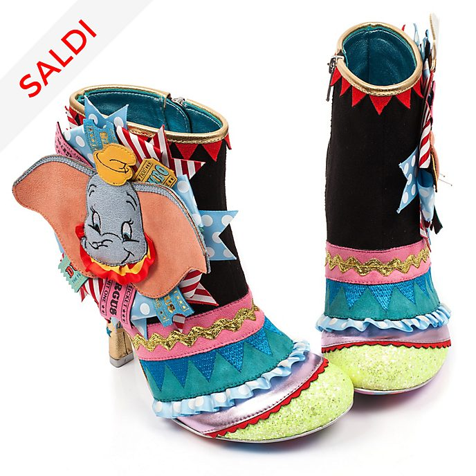Stivali con tacco donna Dumbo Irregular Choice X Disney