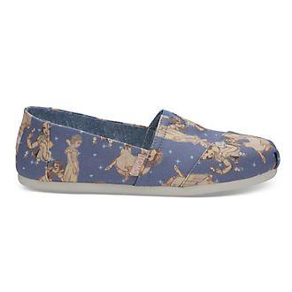 Zapatos de lona para mujer Blancanieves, TOMS