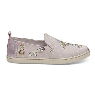 TOMS Seven Dwarfs Women's Slip-on Canvas Shoes
