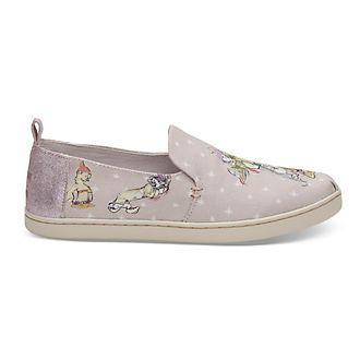 TOMS scarpe senza lacci in tela donna Sette Nani