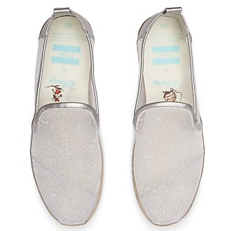 TOMS Classics Chaussures Cendrillon en toile à mailles pour femmes