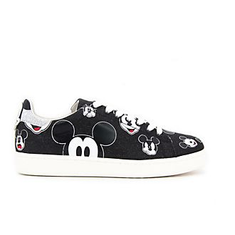 Deportivas purpurina negra Mickey Mouse para adultos, Master of Arts