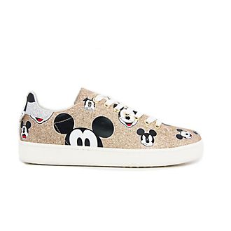 Deportivas purpurina dorada Mickey Mouse para adultos, Master of Arts