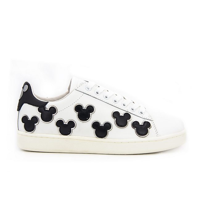 Master of Arts Mickey Mouse White and Black Trainers For Adults