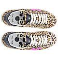 Master of Arts Baskets Mickey Mouse imprimé léopard pour adultes