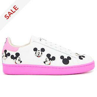 Master of Arts Mickey Mouse White and Pink Trainers for Adults