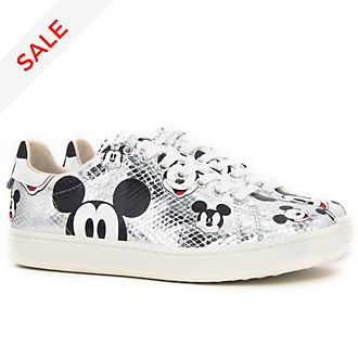 Master of Arts Mickey Mouse Snake Print Trainers for Adults
