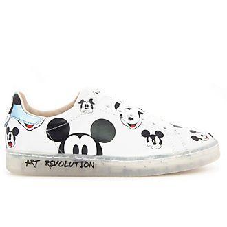 Deportivas blancas Mickey Mouse para adultos, Master of Arts