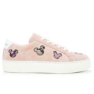 Master of Arts Mickey Mouse Pink Trainers for Adults